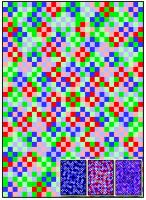 Chaotic Static Quilt Pattern RMT-0008e