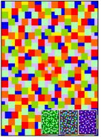 Random Blocks Quilt Pattern RMT-0009e