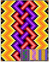 Lightning Knotwork Quilt Pattern RMT-0013e