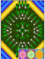 Ballpark Geometric Quilt Pattern RMT-0028e