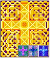Celtic Cross 22 Quilt Pattern RMT-0125e