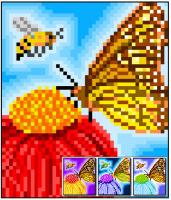 Bee and Butterfly Quilt Pattern RMT-0143e