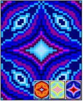 Circular Distortion Quilt Pattern RMT-0148e
