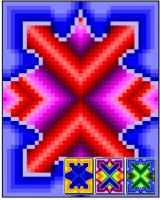 Complex Window Quilt Pattern RMT-0160e