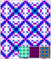 Circle Panels Quilt Pattern RMT-0161e