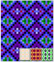 Diamond Panels Quilt Pattern RMT-0162e