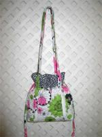 "Pockets Are A Girl's Best Friend ""Daisy"" Drawstring Purse Pattern SBK-003"