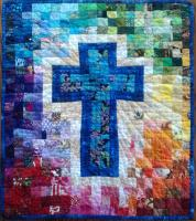 Rainbow Cross Quilt Pattern SCC-101