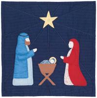 Nativity Quilt Pattern SCN-1009