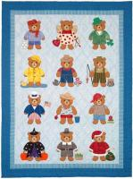 Bearly a Month Quilt Pattern SCN-2050