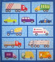 Just Trucks Quilt Pattern SCN-2065