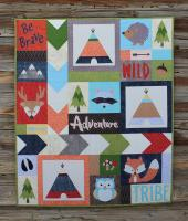 Adventure with My Tribe Quilt Pattern SLQ-114