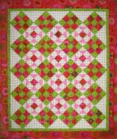 Spring Fever Quilt Pattern - Straight to the Point Series SM-110