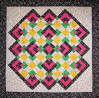 Park Corners Quilt Pattern - Straight to the Point Series SM-115