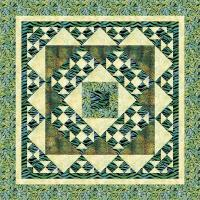 Stonehenge Revisited Quilt Pattern SM-139