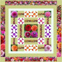 A Walk in the Garden Quilt Pattern SM-153