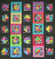Midnight in the Tropics Quilt Pattern SM-154