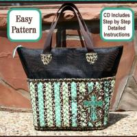 Screen It Up Tote Bag Pattern SM2-100e