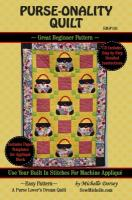 Purse-onality Quilt Pattern SM2-141e