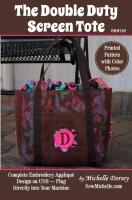 The Double Duty Screen Tote Pattern SM2-158