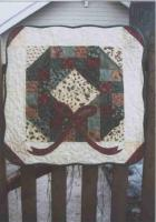 Christmas Charms Wreath Quilt Pattern SNG-169