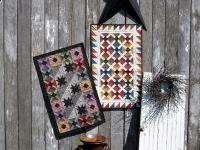 Scrap Basket Duo Table Runner Pattern SNG-246e