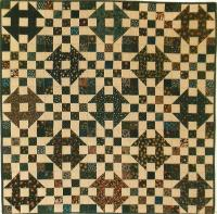 Checkerboard Churn Dash Quilt Pattern SP-105