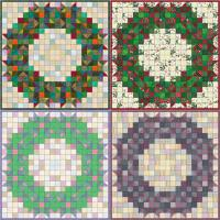 Welcome Wreath Quilt Pattern SP-114
