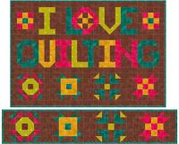 I Love Quilting Quilt Pattern SP-206