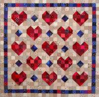 Heart Throb Quilt Pattern SP-211