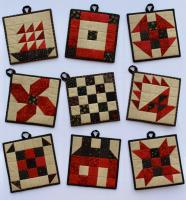 5-Patch Classic Potholder Pattern SP-217
