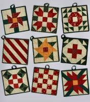 Christmas 5-Patch Potholder Pattern SP-219