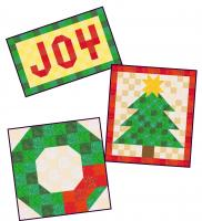 Three Christmas Wall Hangings Pattern SP-226