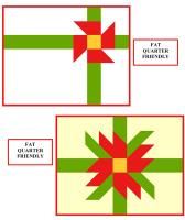 Two Christmas Placemats Pattern SP-227