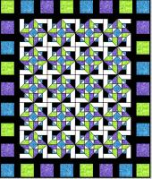 Double Effect Quilt Pattern SQD-111