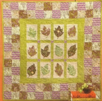 Falling Leaves Quilt Pattern SSP-126