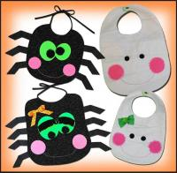 Spider & Mummy Bib Pattern ST-113