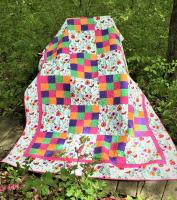 Pretty in Print Quilt Pattern STEM-104