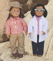 Scientist and Geologist Doll Clothes Pattern STEM-111