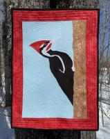Pileated Woodpecker Wall Hanging Pattern STEM-112
