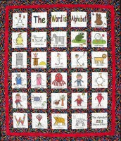The Word is Alphabet Quilt Pattern SW-101