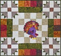 Dresden Turkey Quilt Pattern TQS-58