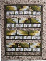 Bargello Bricks Quilt Pattern TQS-76