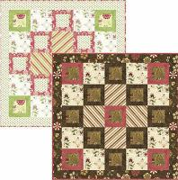 Rainy Day Lap Quilt and Wall Hanging Pattern TRQ-103