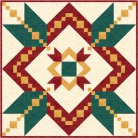 Christmas Quilt and Wall Hanging Pattern TRQ-118