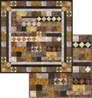 Mohawk Valley Ramble Wall Hanging and Lap Quilt Pattern TRQ-121