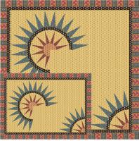 Sunrise Table Set Pattern TRQ-150