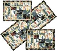 Woodland Path Table Set Pattern TRQ-154