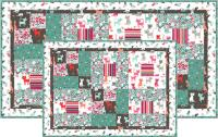 Cats in the Garden Table Set Pattern TRQ-160