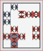 Argyle Path Quilt Pattern TRQ-167